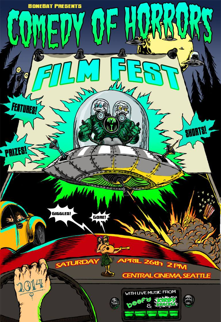 BoneBat «Comedy of Horrors» Film Fest